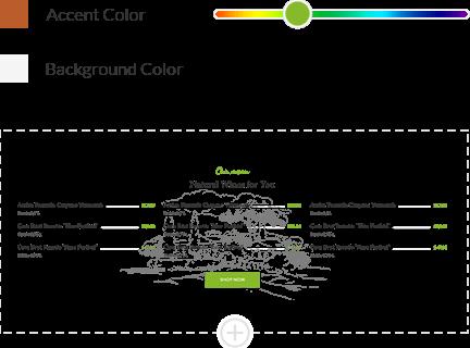 Website Color Scheme of Your Choice
