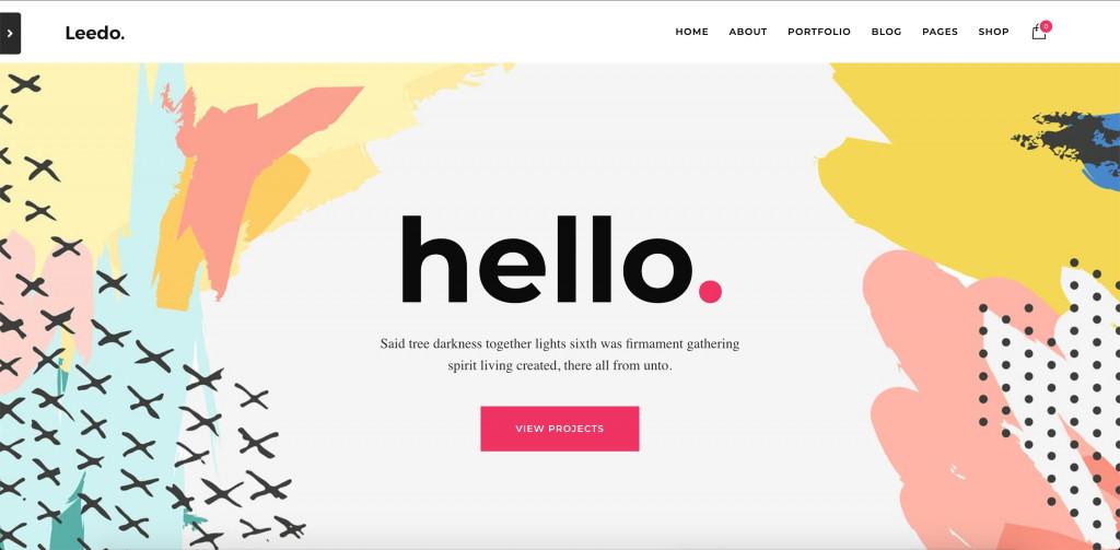 Creative Portfolio WordPress Theme for Small Business