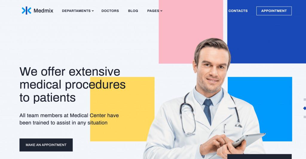 Medmix - WordPress Medical Theme
