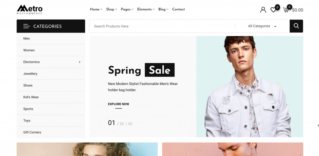 Minimal WooCommerce WordPress Theme