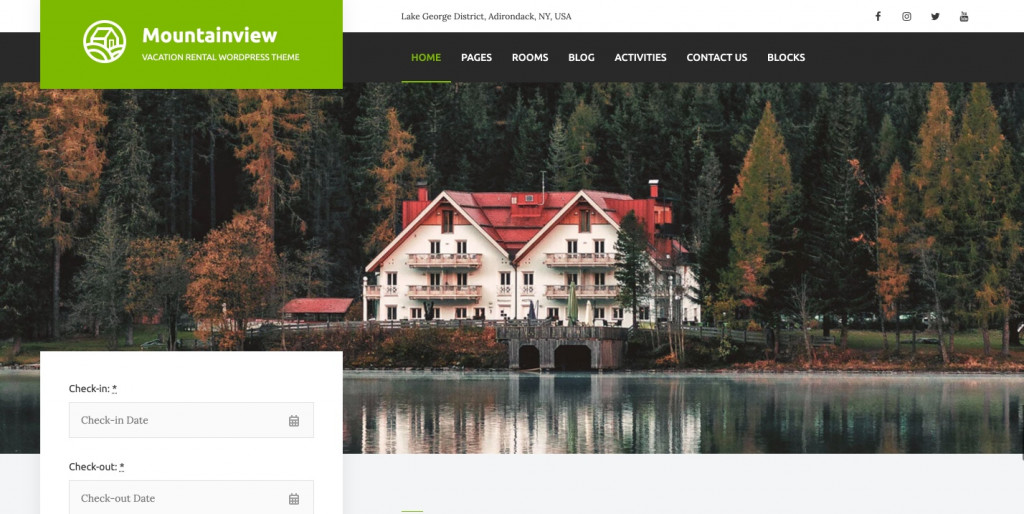 Vacation Rental WordPresss SEO theme