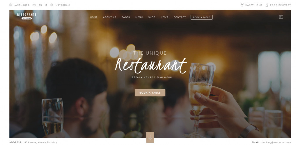 Restaurant Food for Small Business