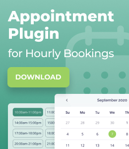 WordPress Appointment Booking