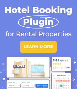 WordPress Hotel Booking Plugin