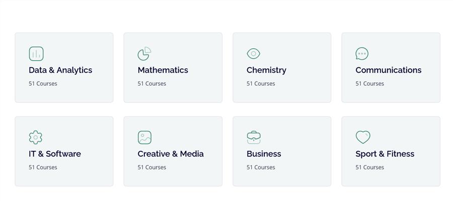 custom categories list