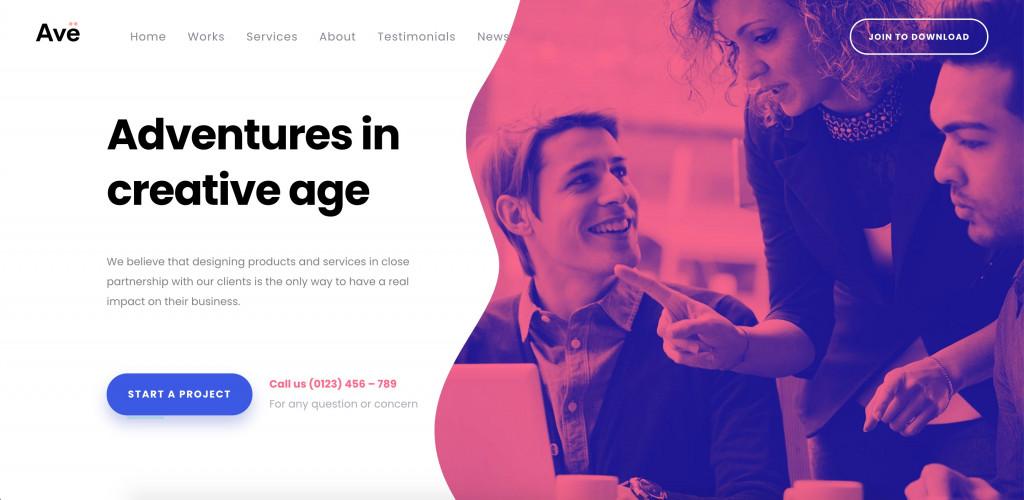 Multipurpose WordPress Theme for designers