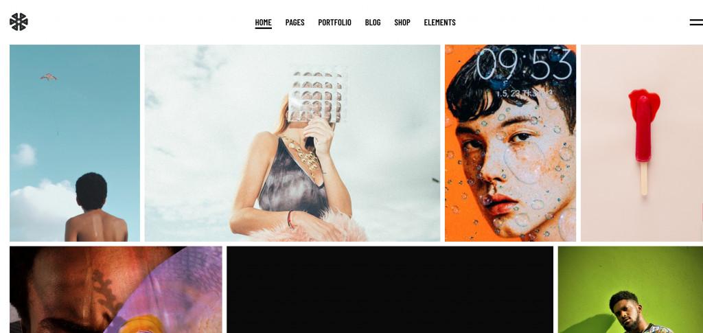 Creative Agency WordPress Theme for Photographers