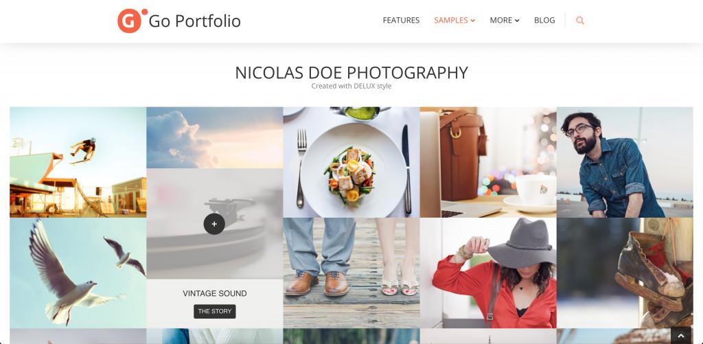 Go Portfolio plugin for WordPress galleries