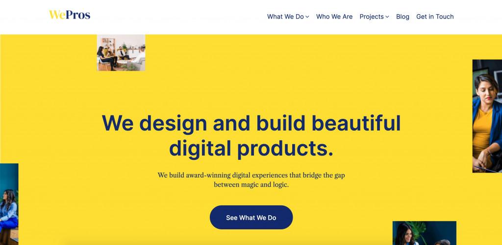 top WordPress theme for designers