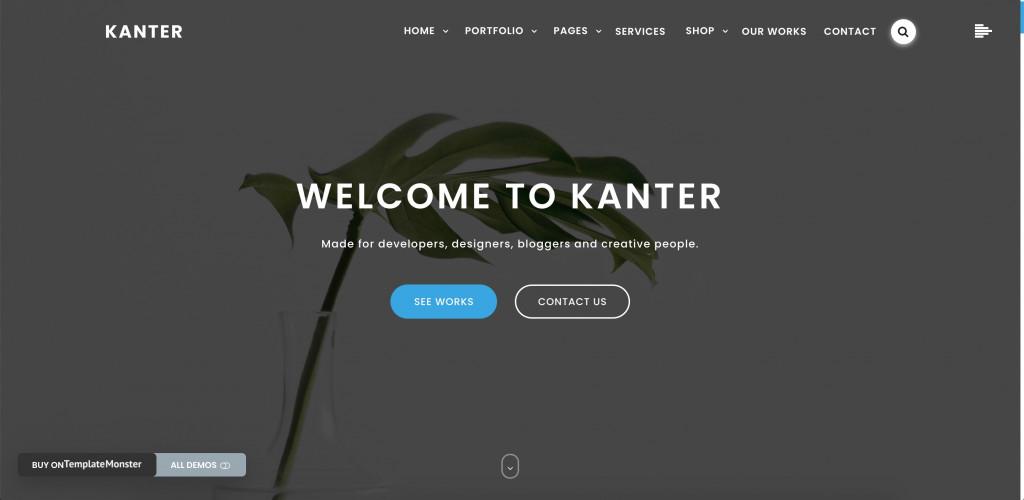 Corporate & Portfolio & Agency WordPress Theme