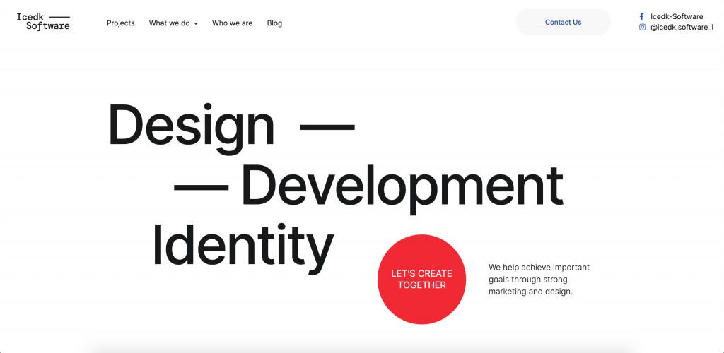 Web Design Elementor Website Template