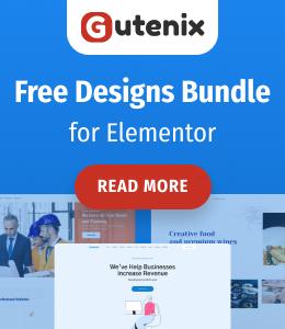 Free Designs Bundle for Elementor