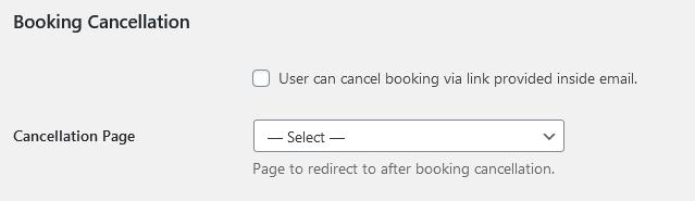 cancel options