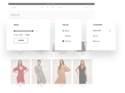 Product Categories, Sorting & Filtering