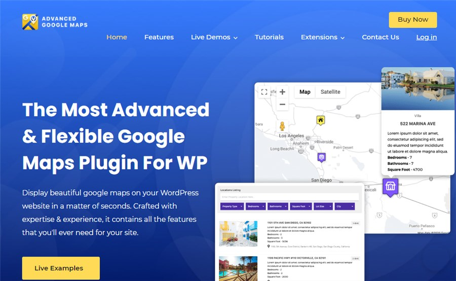 Advanced Google Maps Business WP Plugin