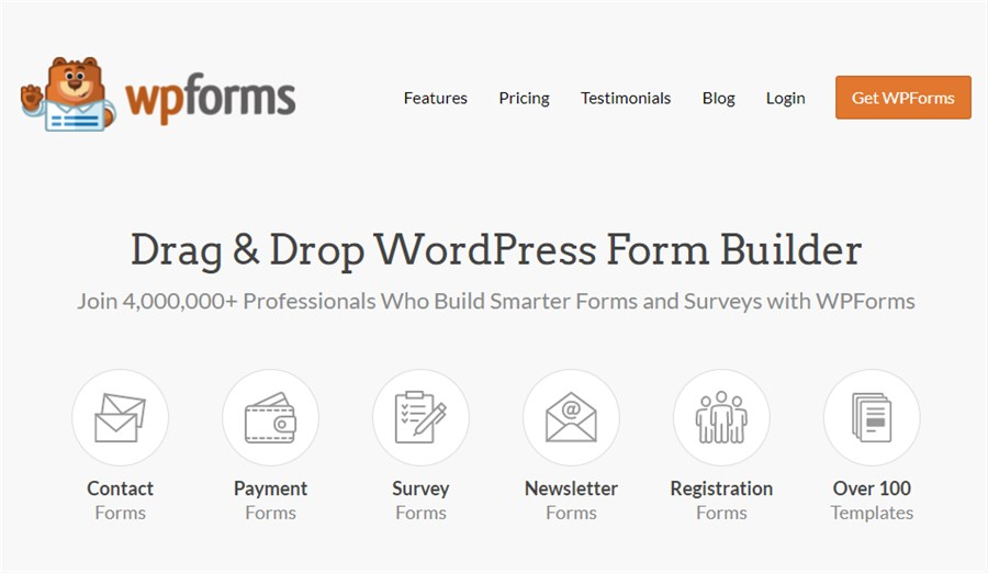 WPForms WordPress Plugin for Business