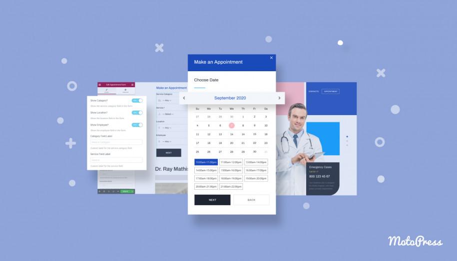 booking widget wordpress