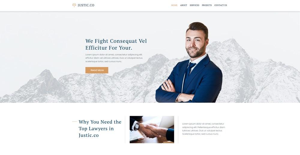 gutenix wp theme for lawyers