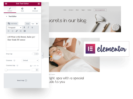 Unlimited Customization Options by Elementor