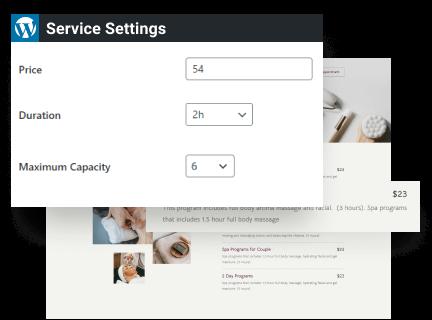 Service Duration & Capacity