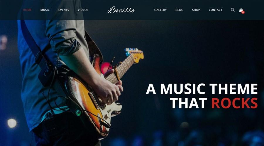 Lucille Premium WP Theme