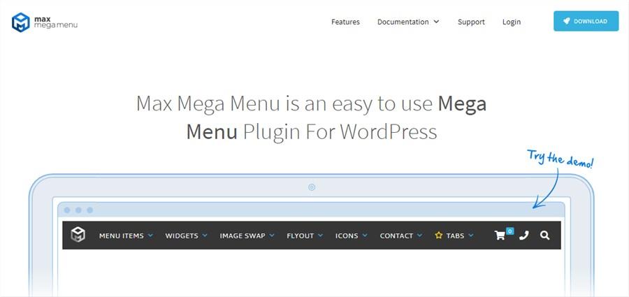 WP Plugin Max Mega Menu