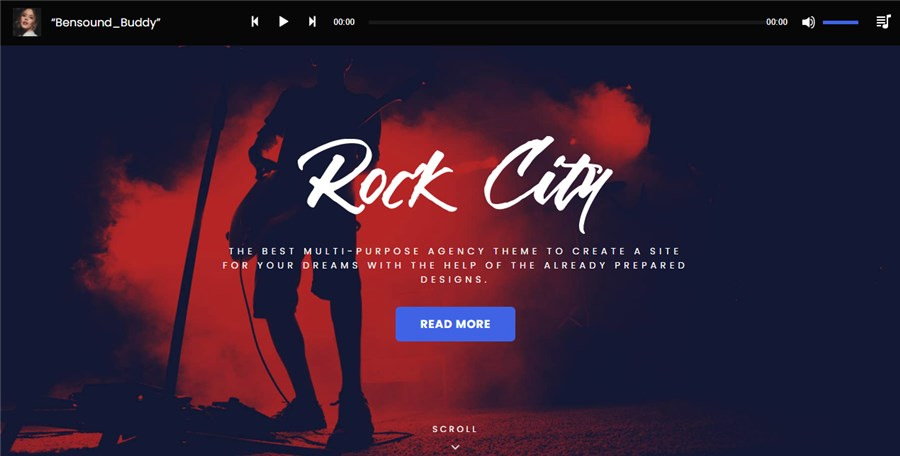 WP Theme for Musicians Music Journal