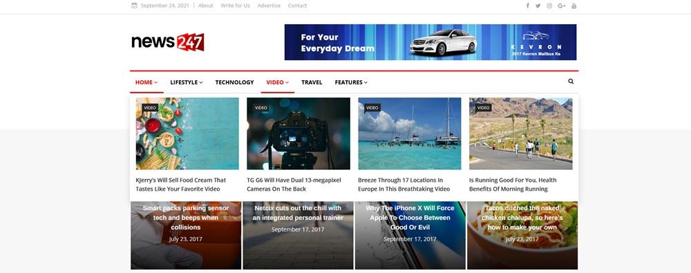 mega menu wordpress examples